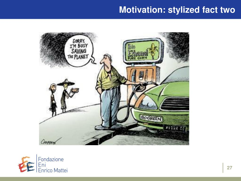 Motivation: stylized fact two