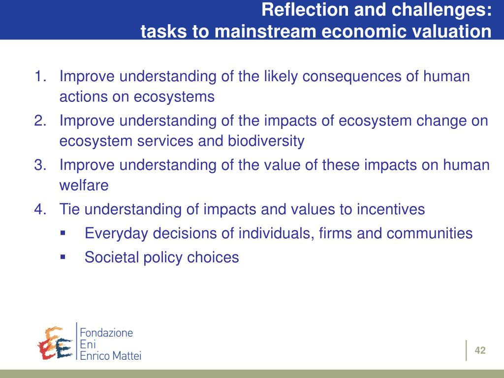 Reflection and challenges: