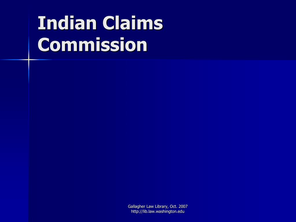 Indian Claims Commission