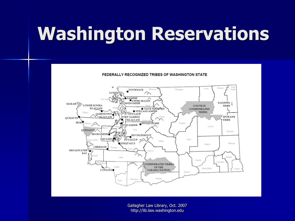 Washington Reservations