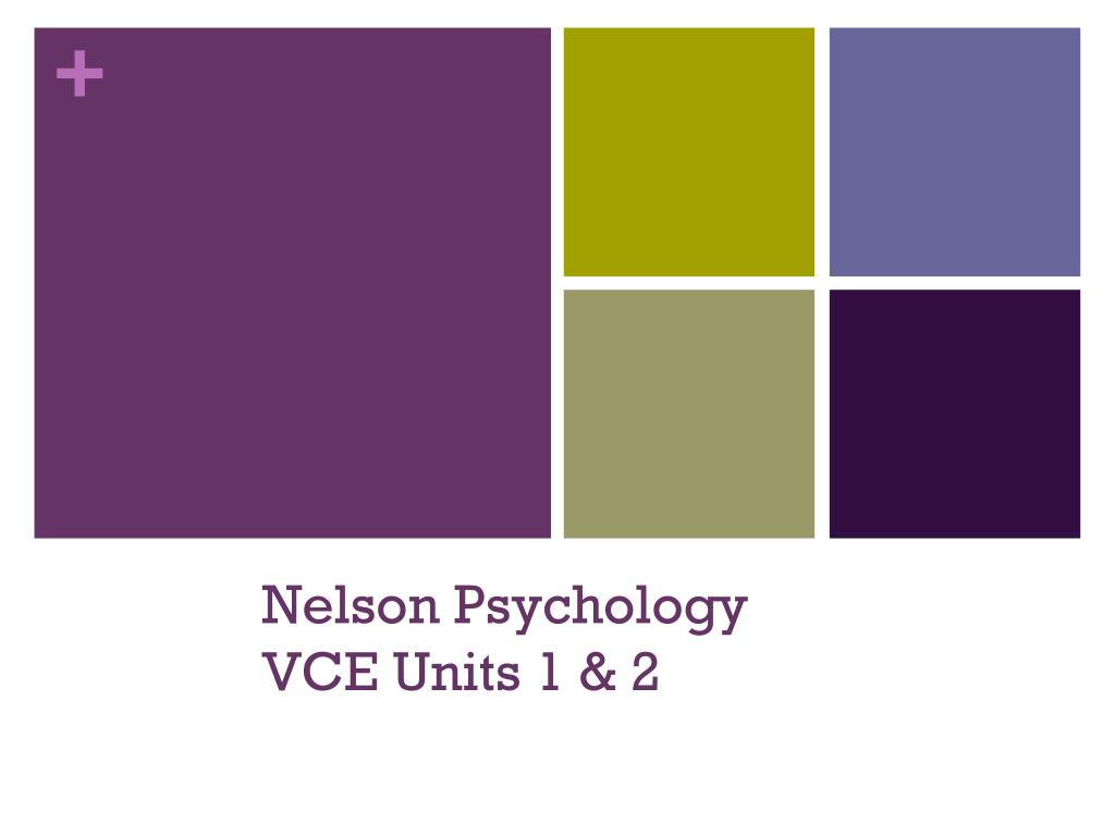 Nelson Psychology