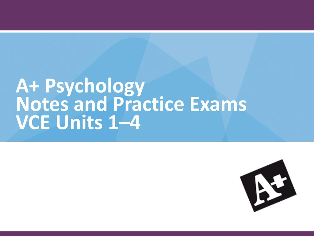 A+ Psychology