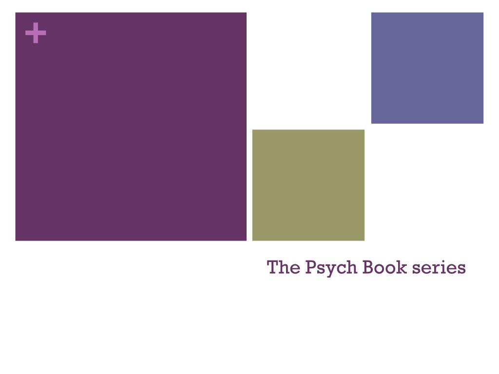 The Psych Book series