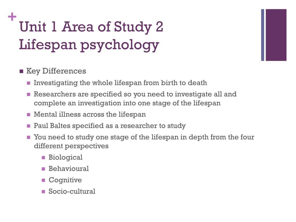 Unit 1 Area of Study 2