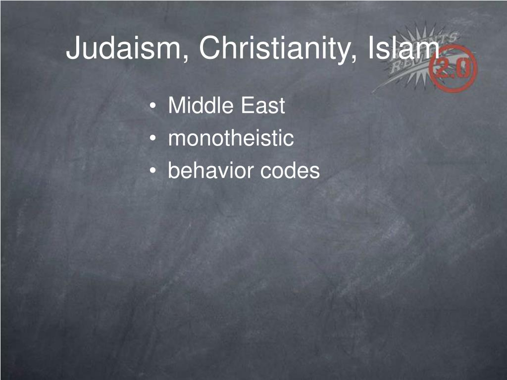 Essay on christianity and judaism