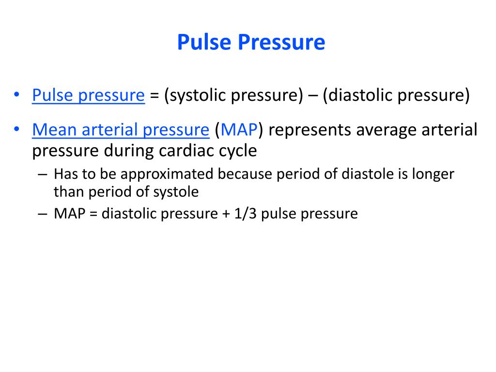 how to find pulse pressure