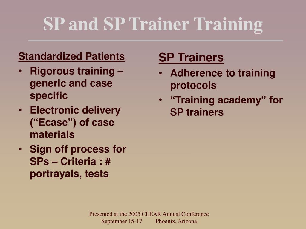 Standardized Patients