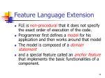 feature language extension71