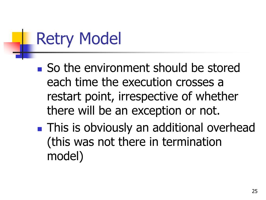 Retry Model
