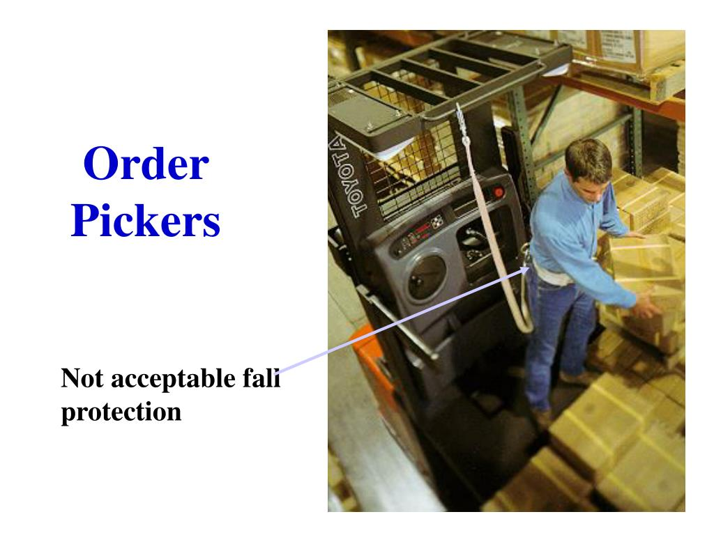 Order Pickers