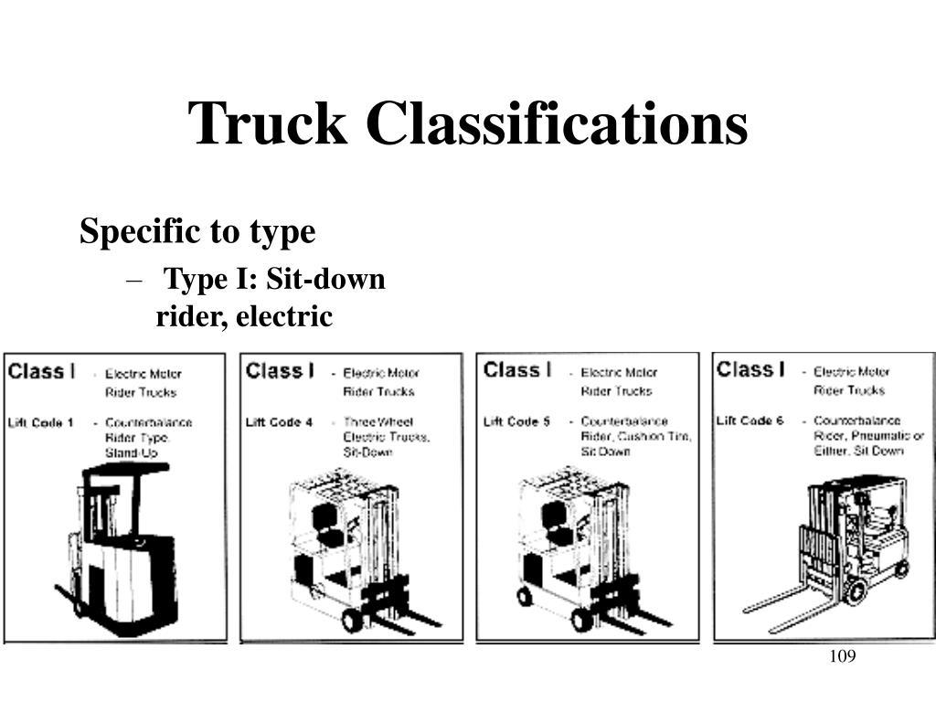 Truck Classifications