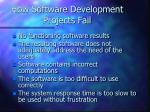 how software development projects fail