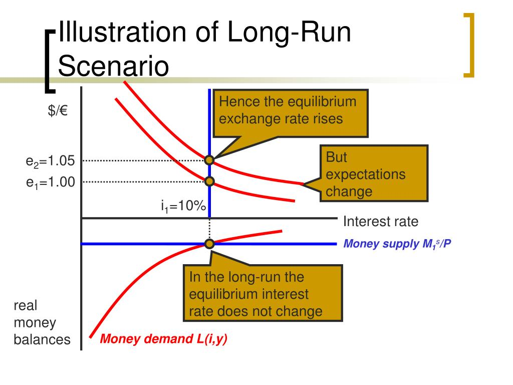 Illustration of Long-Run Scenario