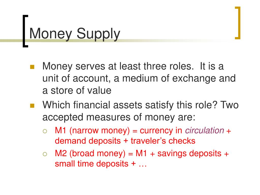 Money Supply
