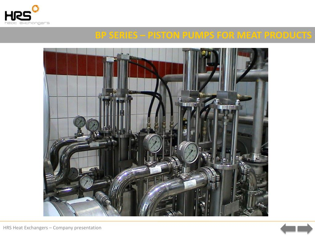 BP SERIES – PISTON PUMPS FOR MEAT PRODUCTS