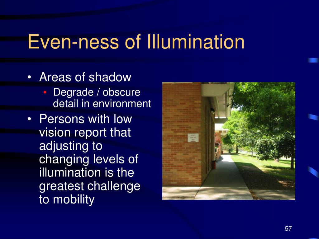 Even-ness of Illumination