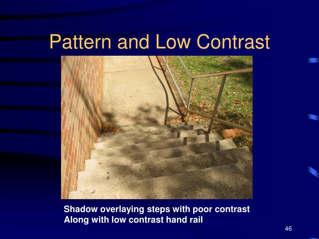 Pattern and Low Contrast