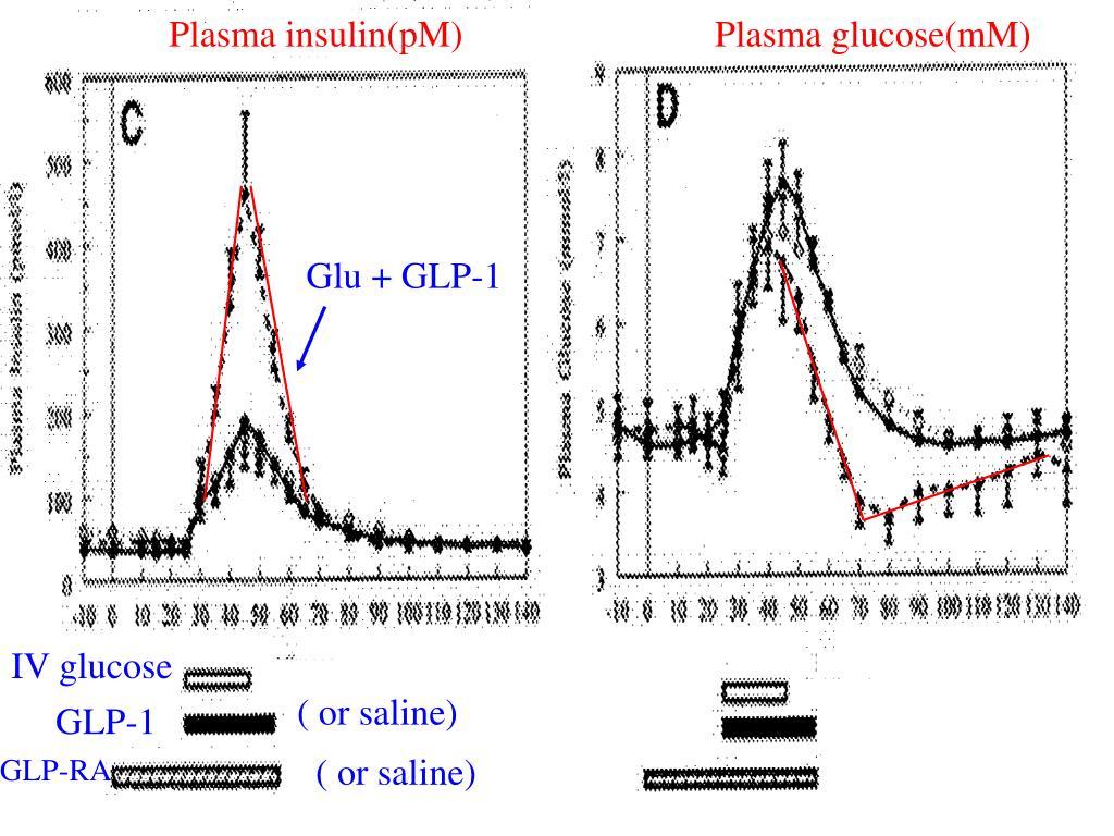 Plasma insulin(pM)