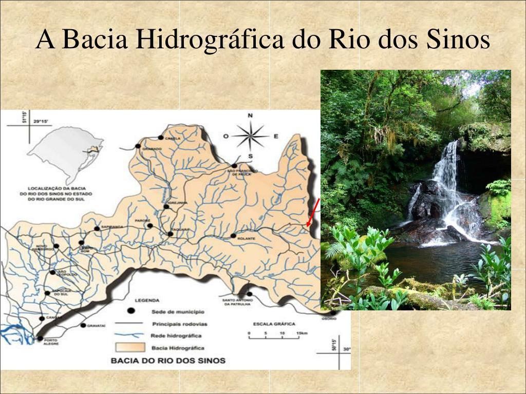 A Bacia Hidrográfica do Rio dos Sinos