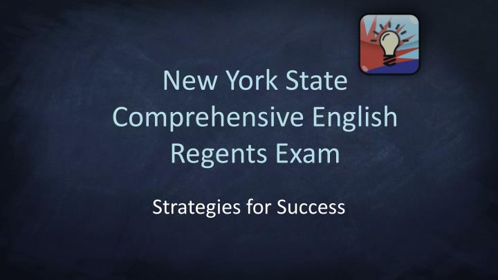 New york state comprehensive english regents exam