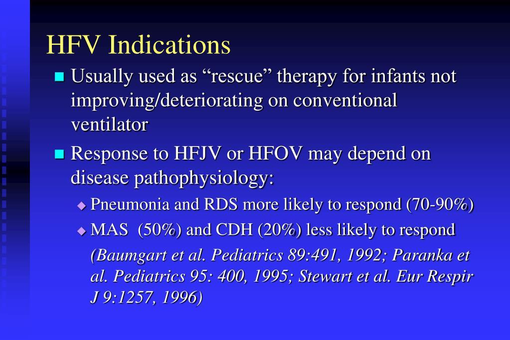 HFV Indications
