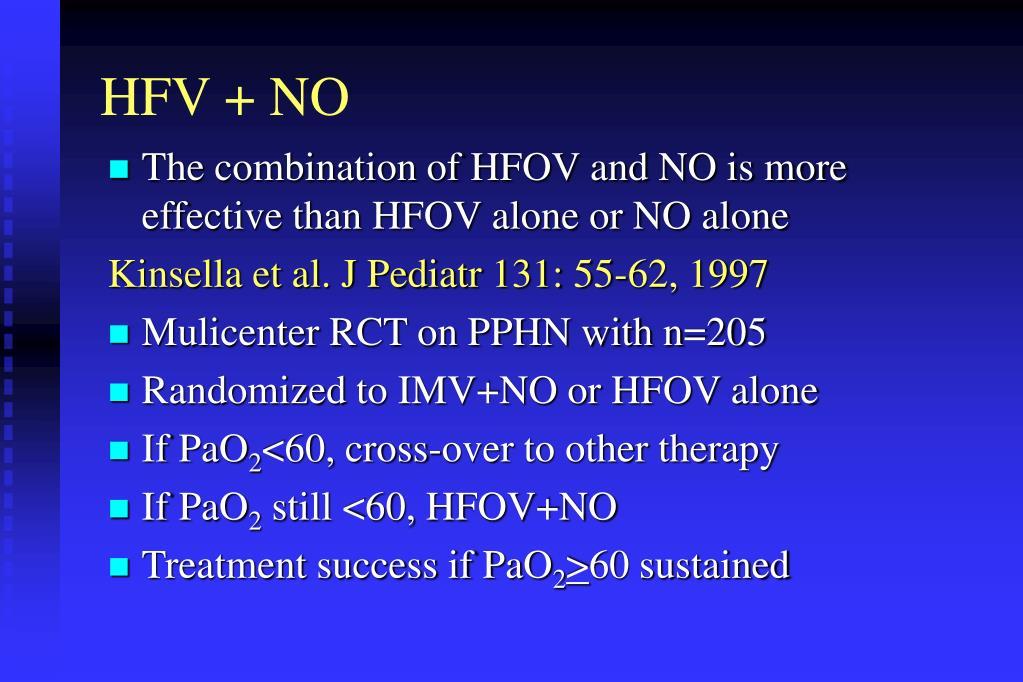 HFV + NO