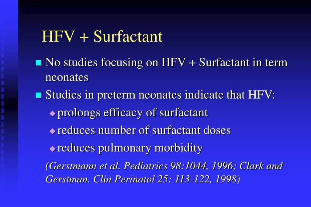 HFV + Surfactant