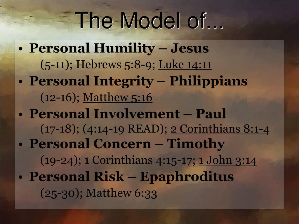 The Model of...