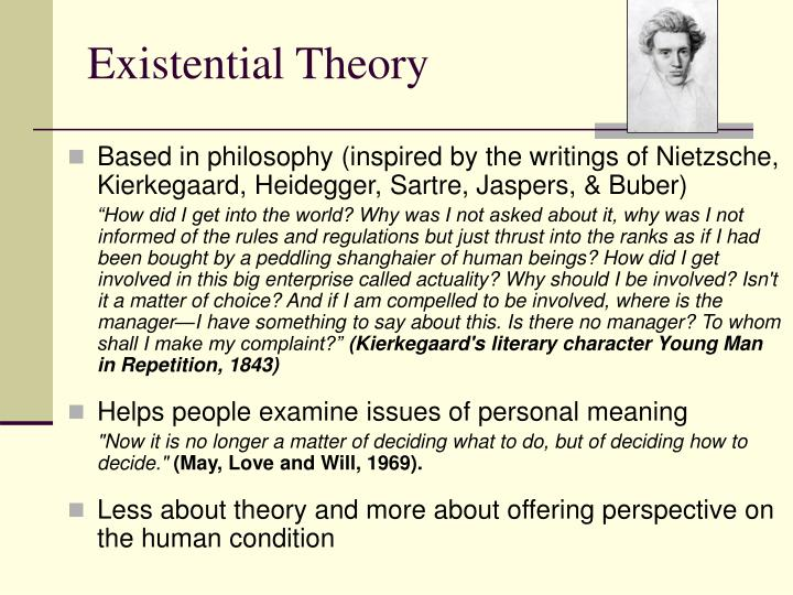 Existential theory