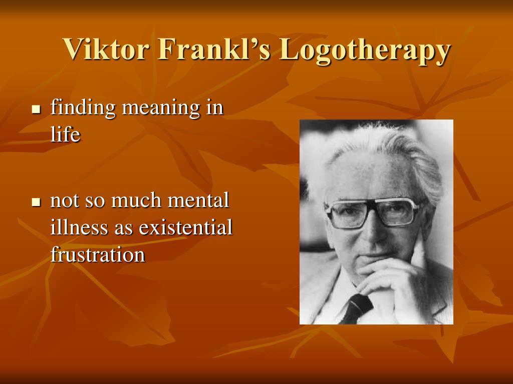 Viktor Frankl's Logotherapy