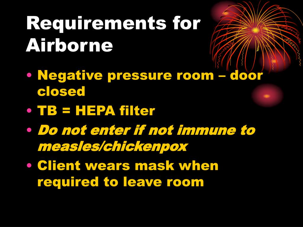 Requirements for Airborne