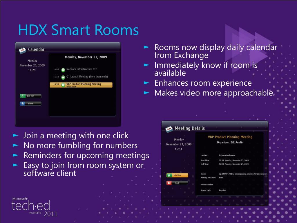 HDX Smart Rooms