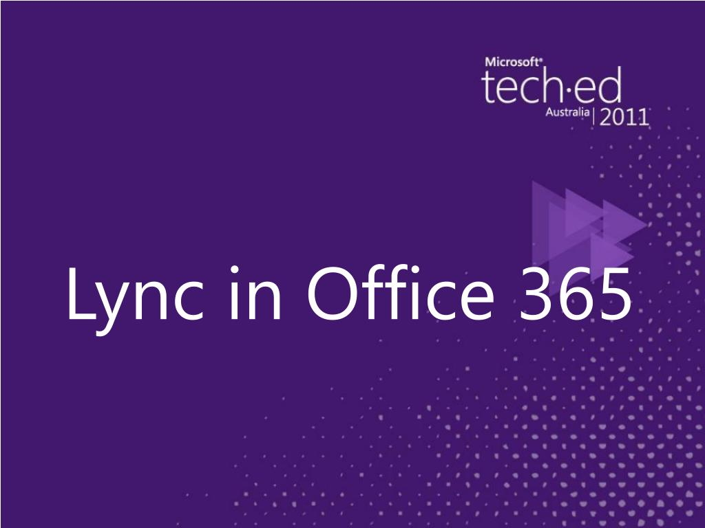 Lync in Office 365
