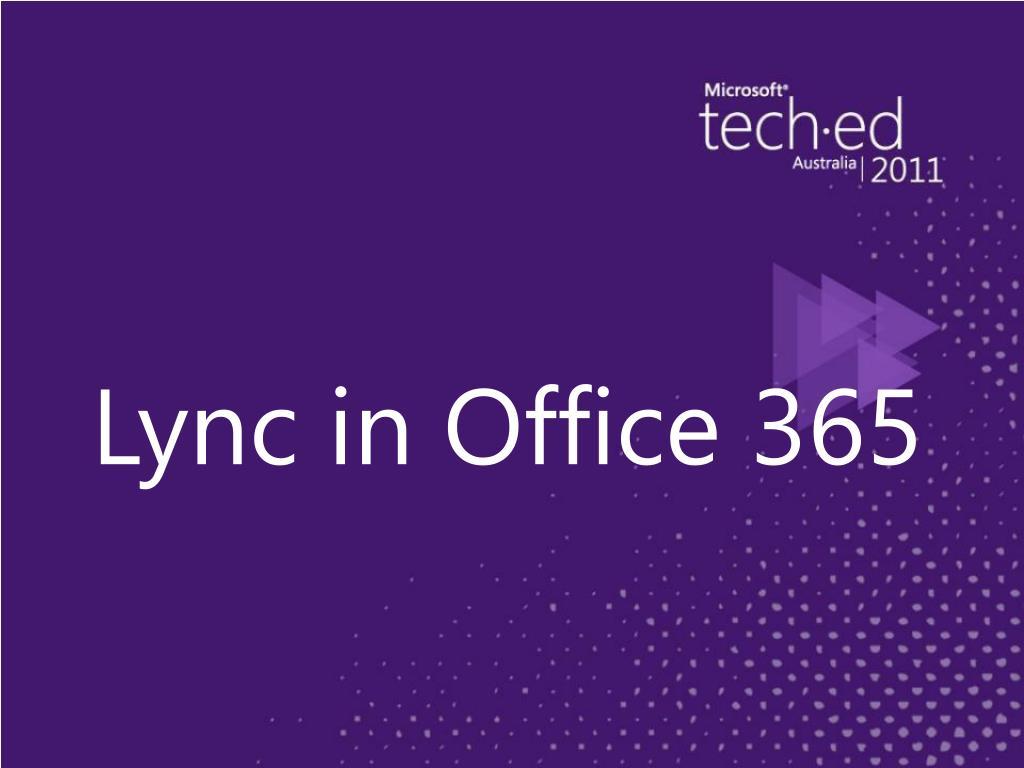 Lync in Office 365