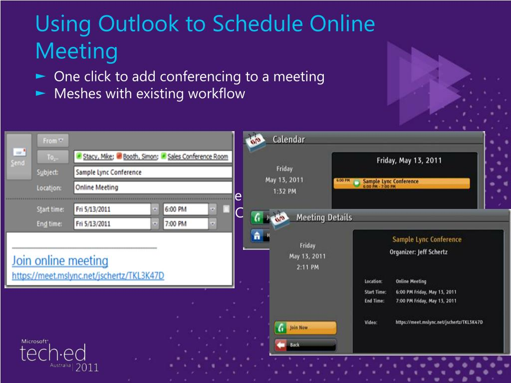 Using Outlook to