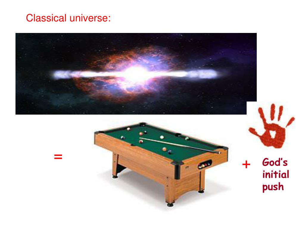Classical universe: