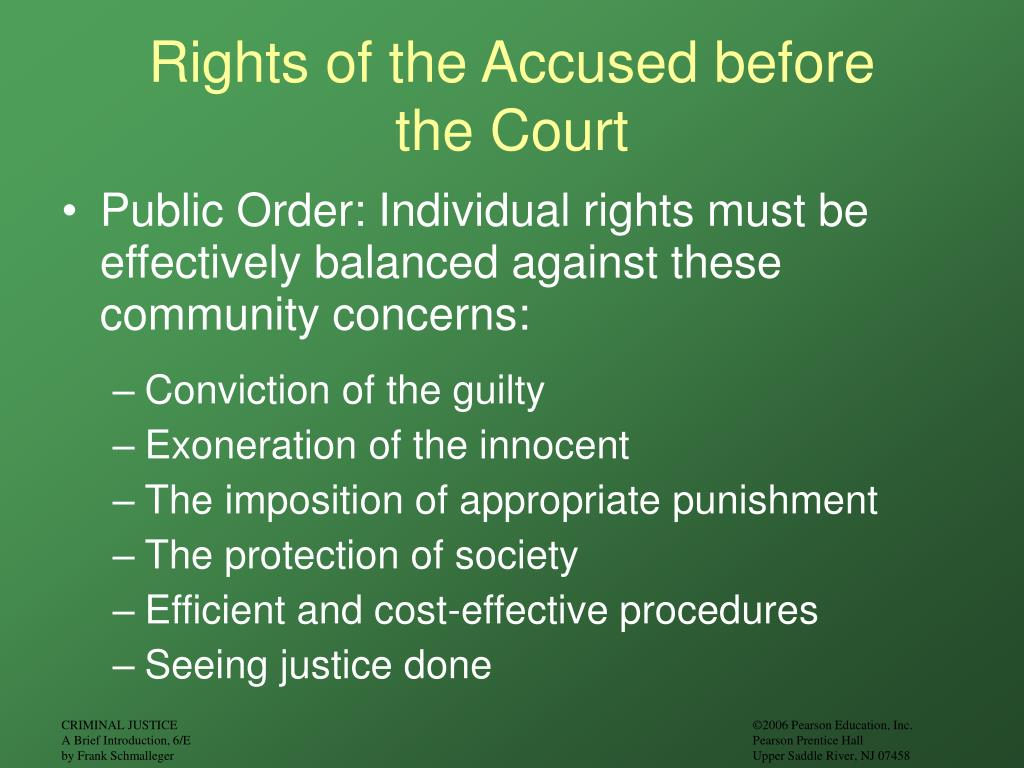 rights of accused The right to silence is a legal principle which guarantees any individual the right to refuse to answer questions from law enforcement officers or court officials it is a legal right recognized, explicitly or by convention, in many of the world's legal systems the right covers a number of issues centered on the right of the accused or the.