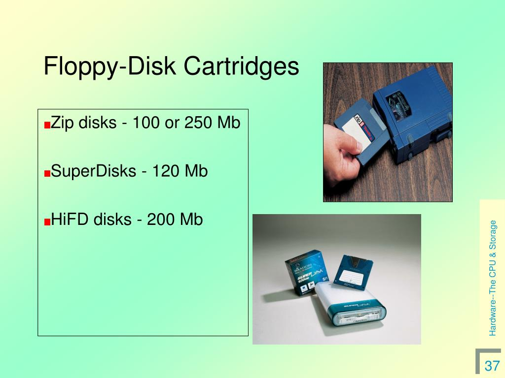 Floppy-Disk Cartridges