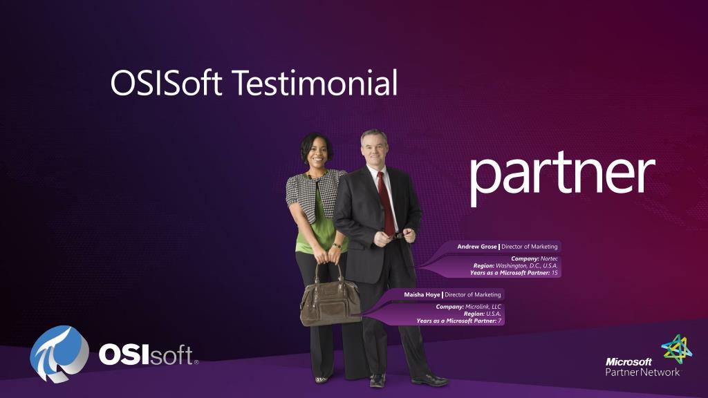 OSISoft Testimonial