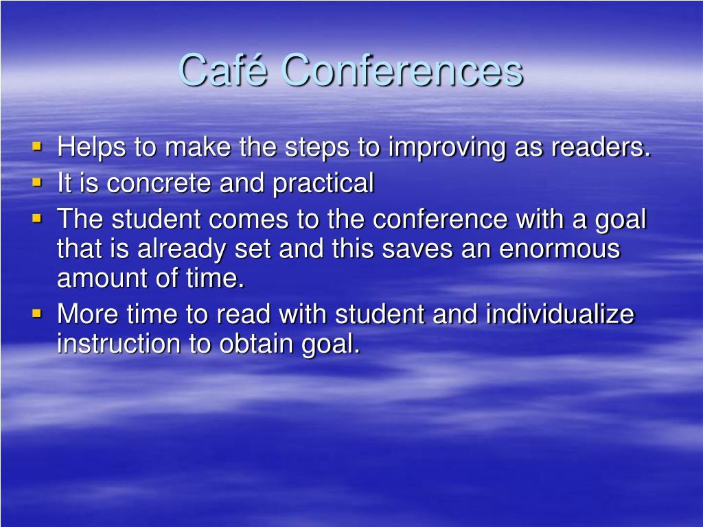 Café Conferences