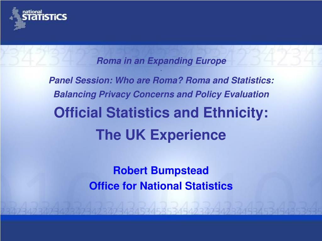 Ppt robert bumpstead office for national statistics powerpoint presentation id 314970 - Office for national statistics ...