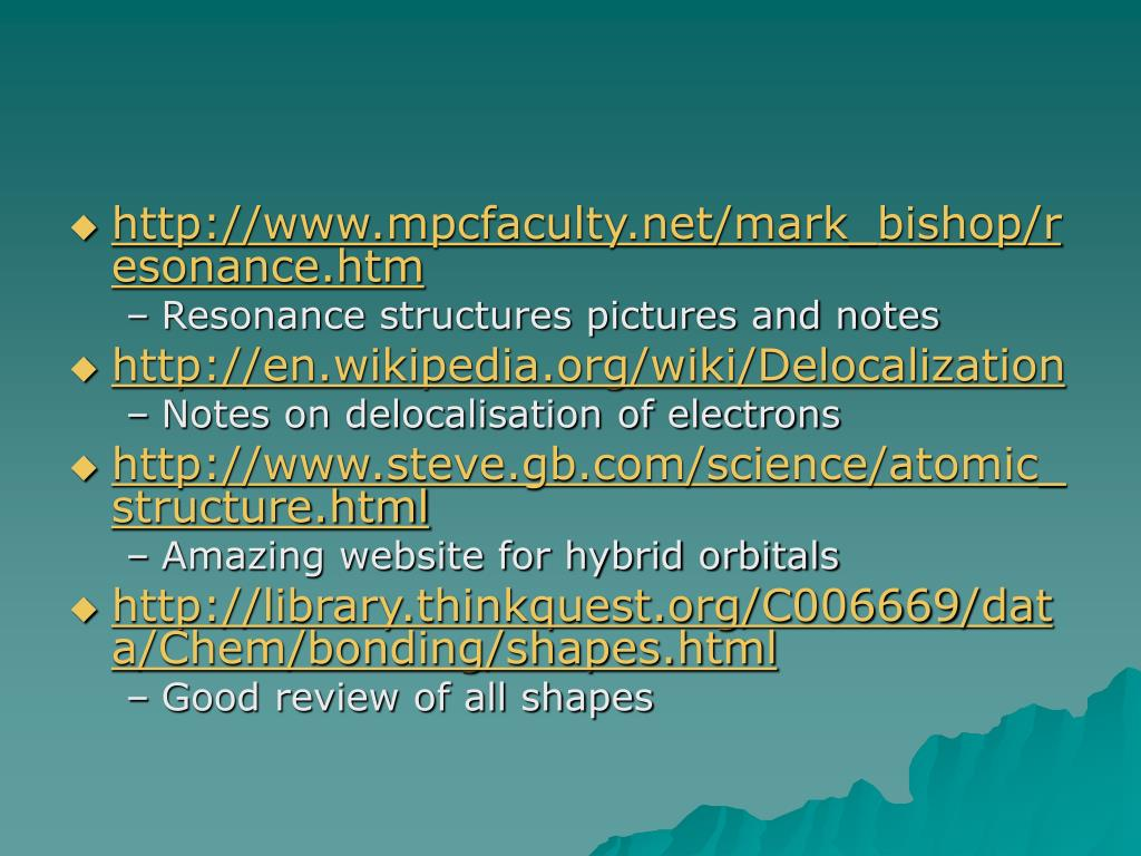 http://www.mpcfaculty.net/mark_bishop/resonance.htm