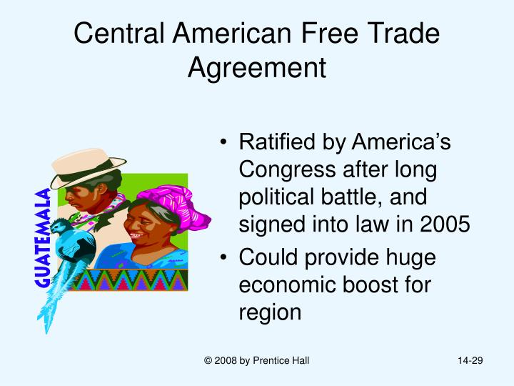 central american free trade agreement essay The us-central american free trade agreement(cafta) is a trade agreement  that is being negotiated between the united states and five central american.