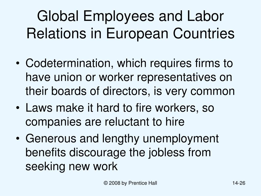 globalization and labor management relations Ma/msc in disaster management  ma in globalization and labour ma in human resources management and labour rela placement cell.