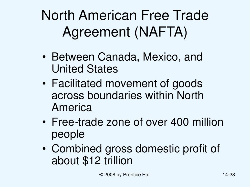 a research of the north america free trade agreement How the north american free trade agreement contributed to health setbacks in and mexico into a single free-trade zone my research reveals new chronic health.