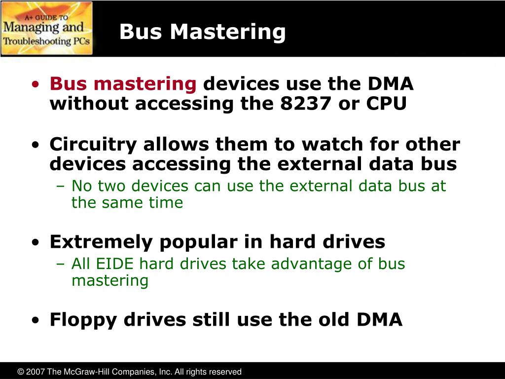 Bus Mastering