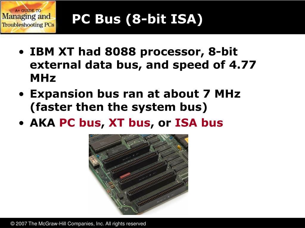 PC Bus (8-bit ISA)