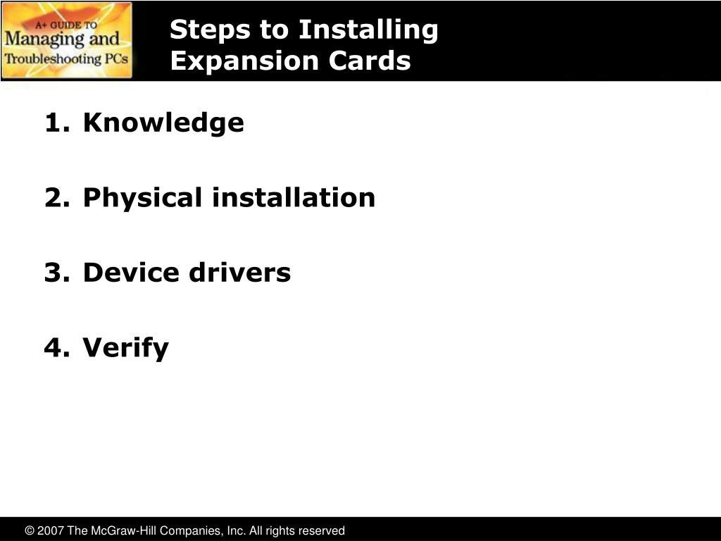 Steps to Installing