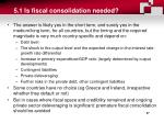 5 1 i s fiscal consolidation needed