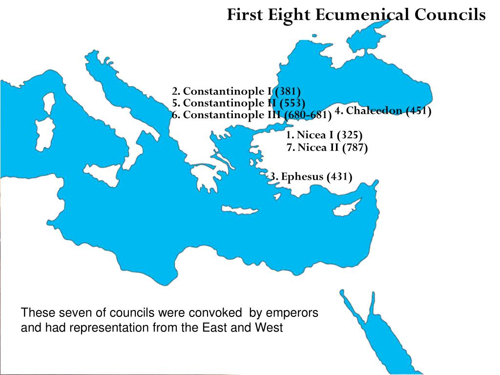 First Eight Ecumenical Councils